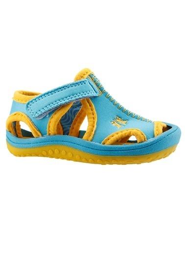 Ayakland Ayakland Kids Turkuaz Aqua Erkek Çocuk  Sandalet Panduf Ayakkabı Turkuaz